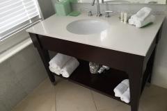 Bathroom renovation vanities Belleair bourgoing construction