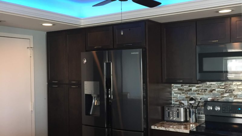 Fully Enclosed Kitchen Becomes Open