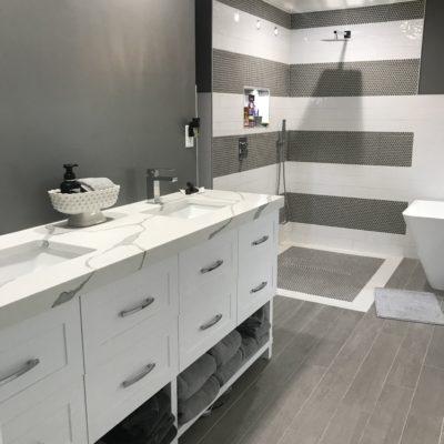 Master Bathroom with Simplicity